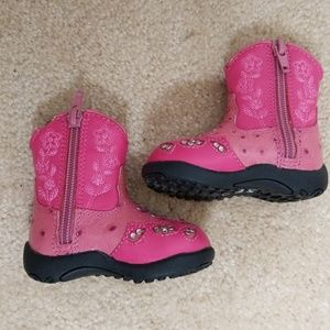 Other - Kids pink sparkle boots